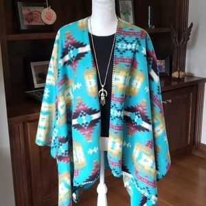 Last One - Turquoise Native American Style Wrap